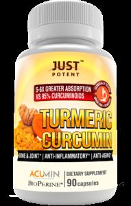 Just Potent Turmeric Curcumin