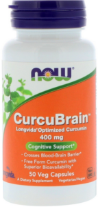 Now Foods CurcuBrain - Longvida