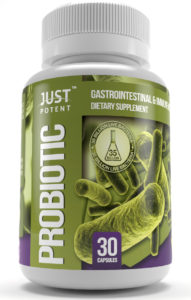 Just Potent Probiotic Supplement 35 Billion CFUs