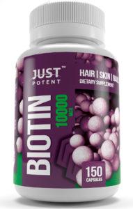 Just Potent Biotin 10000 MCG
