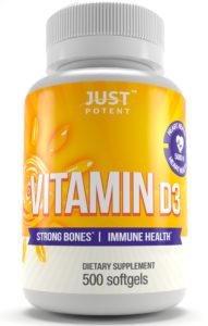 Just Potent Vitamin D3 5000 IU