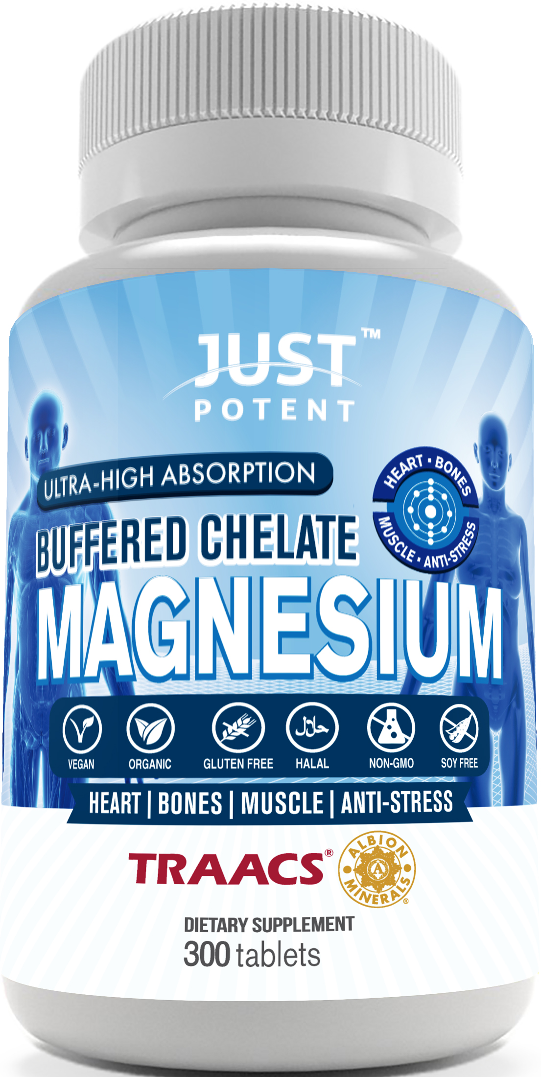 Just Potent Magnesium Supplement