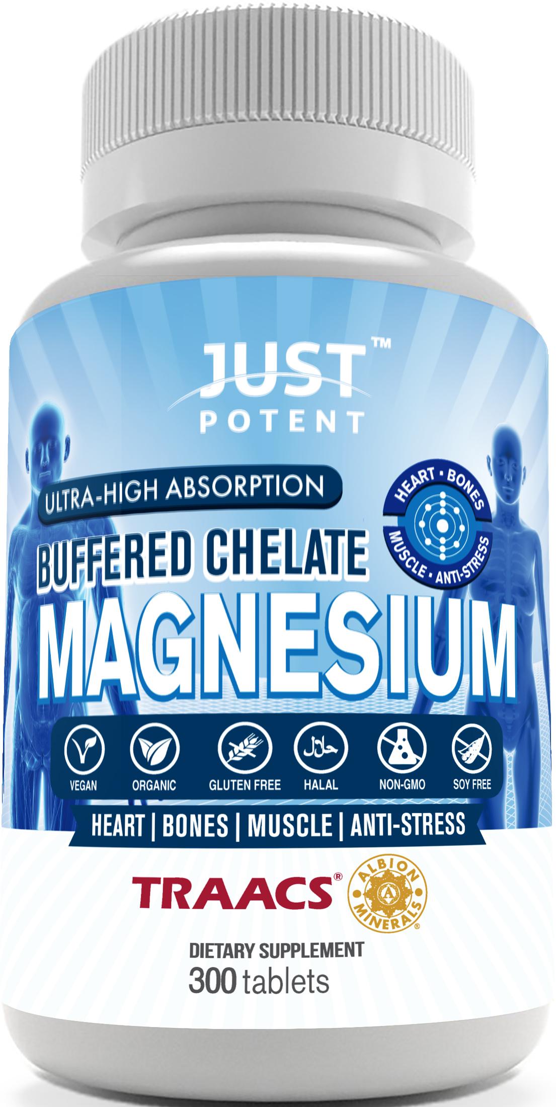 Just Potent Magnesium Supplement