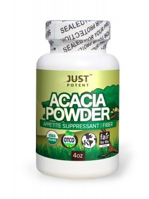 Acacia Powder 4oz (filled by volume) by Just Potent