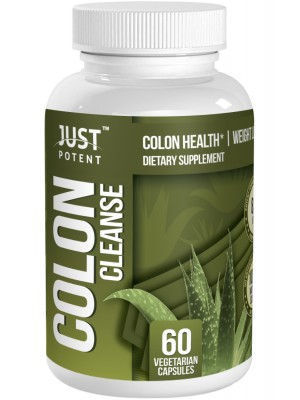 Colon Cleanse by Just Potent :: Colon Health and Weight Loss Supplement