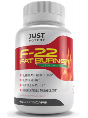 F-22 Fat Burner by Just Potent | Fat Burner | Appetite | Energy | Thermogenesis