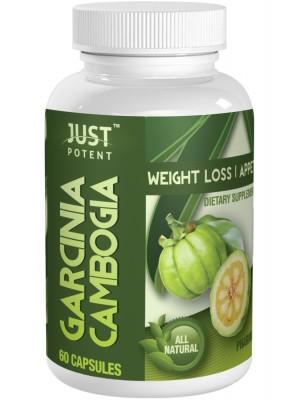 Just Potent Pharmaceutical Grade Garcinia Cambogia 65% HCA 1000mg