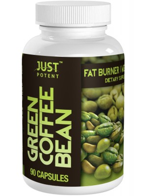Green Coffee Bean Extract by Just Potent   50% Chlorogenic Acid   800mg Per Serving