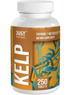 Just Potent High Grade Kelp Supplement | 225mcg Per Tablet