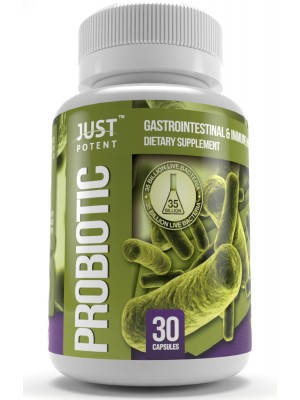 Probiotic Supplement by Just Potent | 35 Billion CFUs | Gastrointestinal & Immune Health