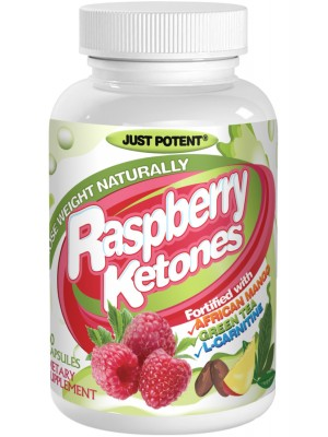 Just Potent Raspberry Ketones plus African Mango, Green Tea, and L-Carnitine