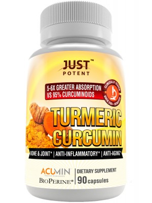 Just Potent Turmeric Curcumin | Ultra-High Absorption