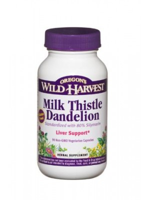 Milk Thistle Dandelion (organic) by Oregon's Wild Harvest