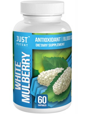 White Mulberry Leaf Extract by Just Potent | Antioxidant | Blood Sugar